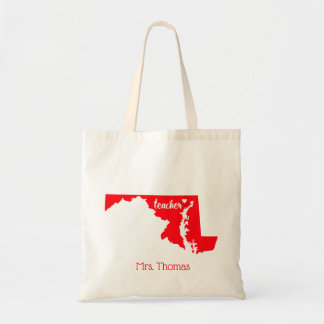 State of Maryland Personalized Teacher Tote