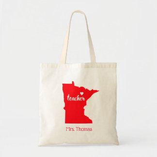 State of Minnesota Personalized Teacher Tote