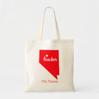 State of Nevada Personalized Teacher Tote