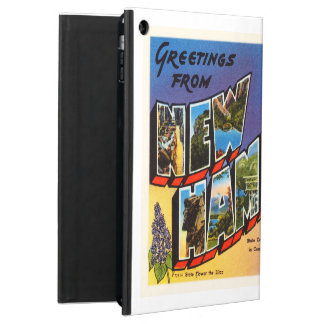State of New Hampshire NH Vintage Travel Souvenir Cover For iPad Air