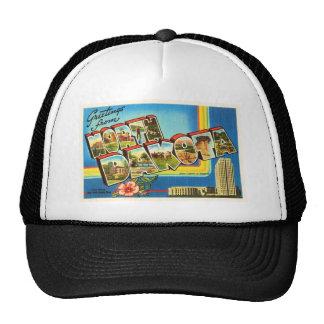 State of North Dakota ND Vintage Travel Souvenir Trucker Hat