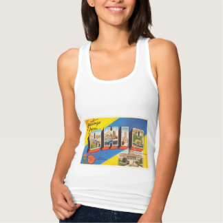 State of Ohio OH Old Vintage Travel Souvenir Tank Top