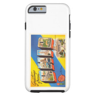 State of Ohio OH Old Vintage Travel Souvenir Tough iPhone 6 Case