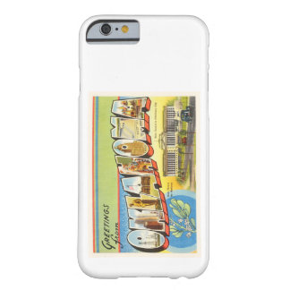 State of Oklahoma OK Old Vintage Travel Souvenir Barely There iPhone 6 Case