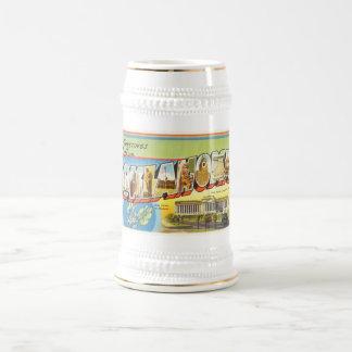 State of Oklahoma OK Old Vintage Travel Souvenir Beer Stein