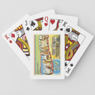 State of Oklahoma OK Old Vintage Travel Souvenir Playing Cards
