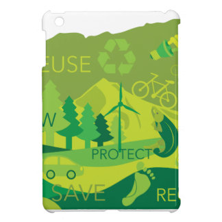 State of Oregon Map Environment Eco Outline Cover For The iPad Mini
