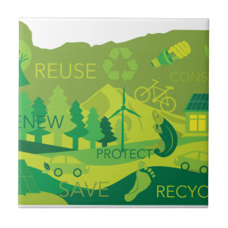 State of Oregon Map Environment Eco Outline Tile