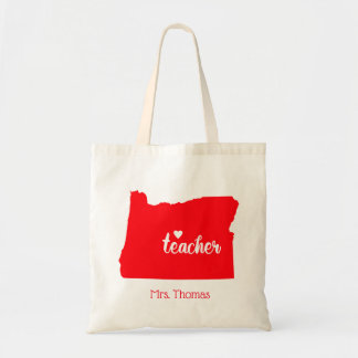 State of Oregon Personalized Teacher Tote