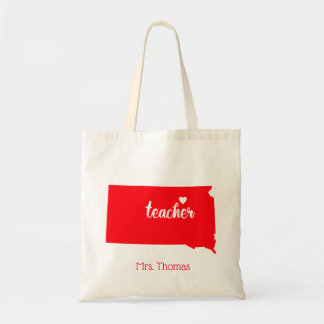 State of South Dakota Personalized Teacher Tote
