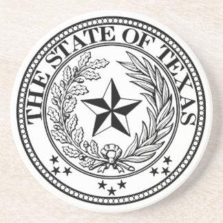 State of Texas Coaster White