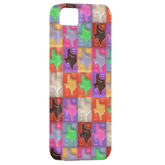 State of Texas Collage iPhone 5 Covers