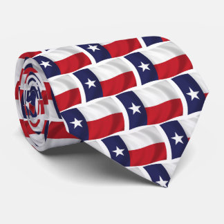 State of Texas Flag Tie