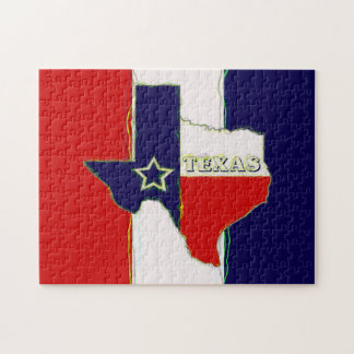 STATE OF TEXAS JIGSAW PUZZLE