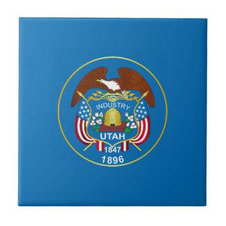 State of Utah flag Tile