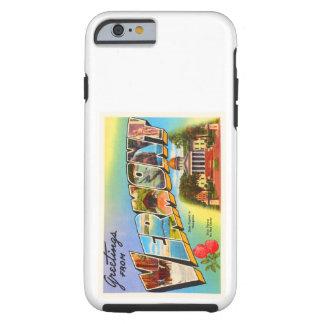 State of Vermont VT Old Vintage Travel Souvenir Tough iPhone 6 Case