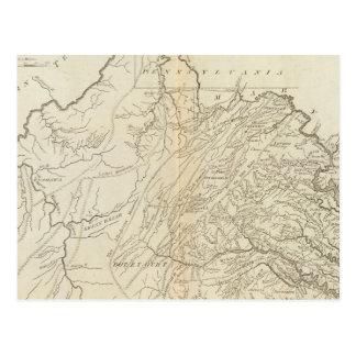 State of Virginia Postcard