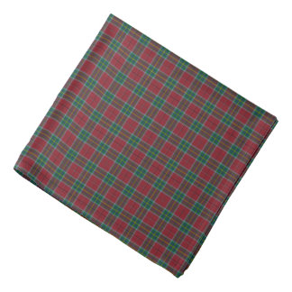 State of West Virginia Tartan Bandana