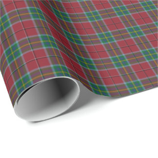 State of West Virginia Tartan Wrapping Paper