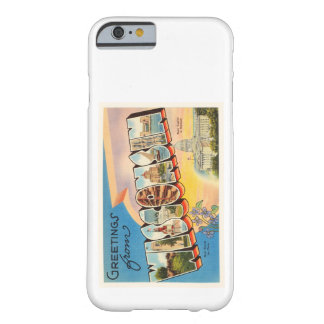 State of Wisconsin WI Old Vintage Travel Souvenir Barely There iPhone 6 Case