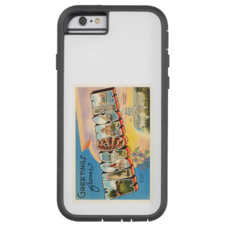 State of Wisconsin WI Old Vintage Travel Souvenir Tough Xtreme iPhone 6 Case
