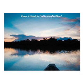 State park of the Canton - Tocantins/Brazil Postcard