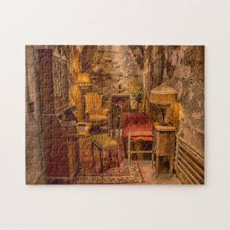 State Penitentiary Philadelphia  Al Capone's Cell. Jigsaw Puzzle