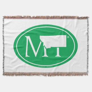 State Pride Euro: MT Montana Throw Blanket