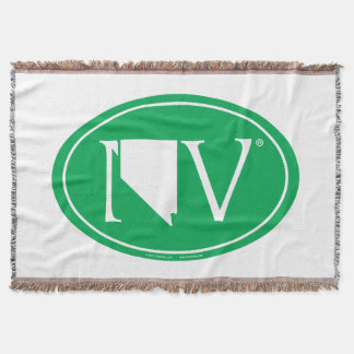 State Pride Euro: NV Nevada Throw Blanket