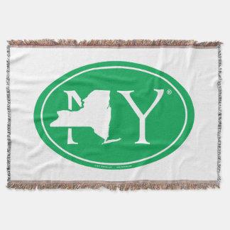 State Pride Euro: NY New York Throw Blanket
