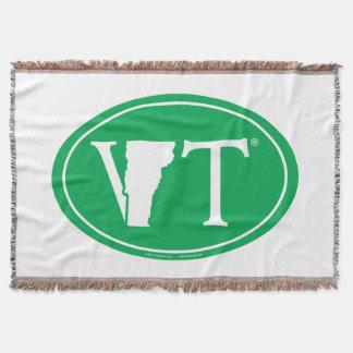 State Pride Euro: VT Vermont Throw Blanket