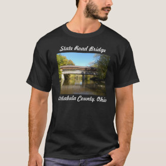 State Rd Bridge Ashtabula County Ohio T-Shirt