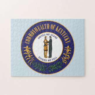 State Seal Kentucky. Jigsaw Puzzle