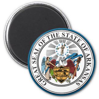 State Seal of Arkansas Magnet