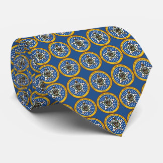 State Seal of Oklahoma Tie