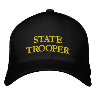 STATE TROOPER EMBROIDERED HAT