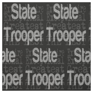 State Trooper Extraordinaire Fabric
