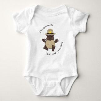 State trooper grandma baby bodysuit