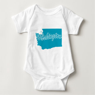 State Washington Baby Bodysuit