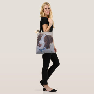STATELY AUBURN SETTER MIX TOTE BAG