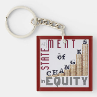 """""""Statement Of Changes In Equity"""" Keychain"""