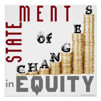 """Statement Of Changes In Equity"" Poster"