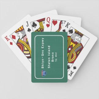 Staten Island Bronx Interstate NYC New York City Poker Deck