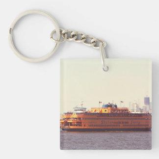 Staten Island ferry, New York Keychain
