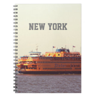 Staten Island ferry, New York Notebook