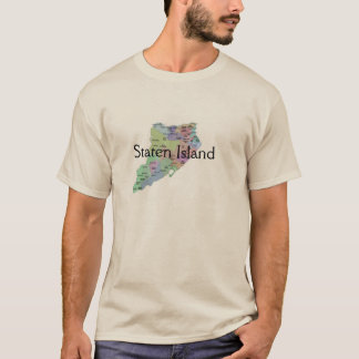 Staten Island (Over map) T-Shirt