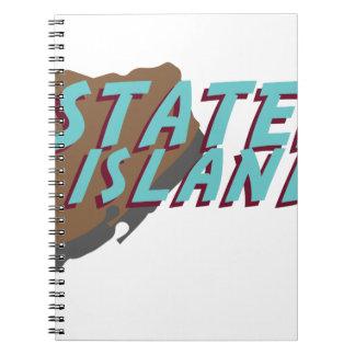 Staten Island Spiral Note Books