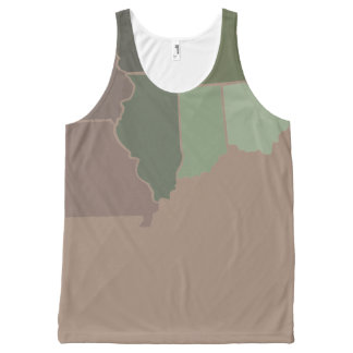 States Camo All-Over-Print Tank Top