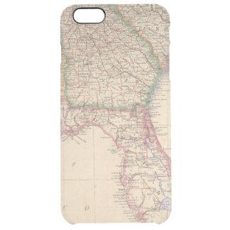 States of South Carolina, Georgia, and Alabama Clear iPhone 6 Plus Case