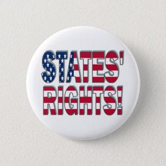 States Rights 2 Inch Round Button